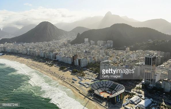 July 31, 2016 in Rio de Janeiro, Brazil.